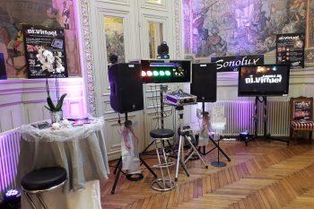 Le DJ Virtuel au salon du mariage